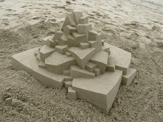 Кэлвин Зайберт. 3D замки из песка