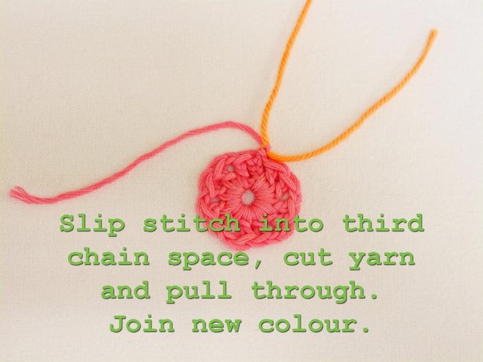 Flower crochet piece AFRICAN FLOWER for knitting toys (17) (700x525, 224Kb)