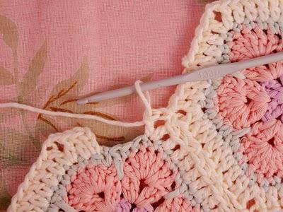 Flower crochet piece AFRICAN FLOWER for knitting toys (44) (400x300, 113Kb)