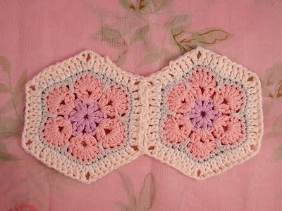Flower crochet piece AFRICAN FLOWER for knitting toys (46) (400x300, 89Kb)