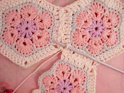 Flower crochet piece AFRICAN FLOWER for knitting toys (52) (400x300, 105Kb)