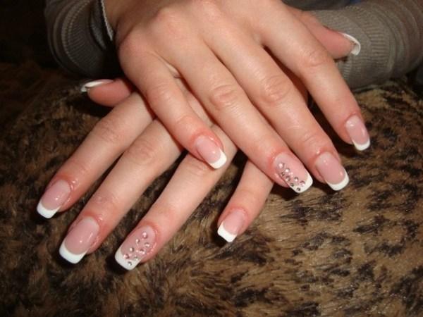Дизайн ногтей фото френч новинки 2013-2014 осень-зима