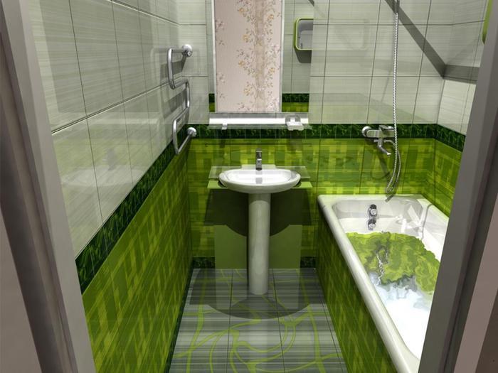 Дизайн небольшой ванной комнаты (фото, видео)