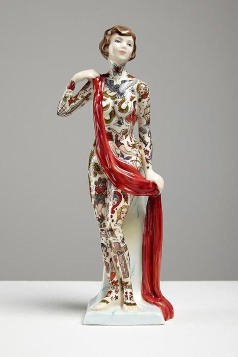 Жуткие керамические скульптурки Джессики Гаррисон