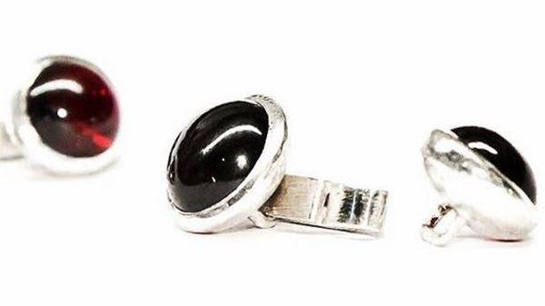 Amorem.ru: мужские запонки из серебра