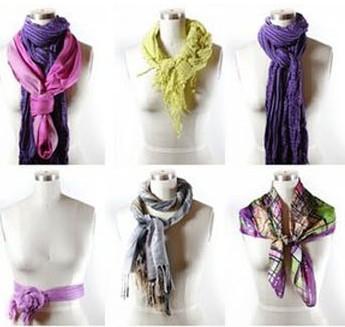 Как красиво завязать шарф на шее: 80 вариантов ...
