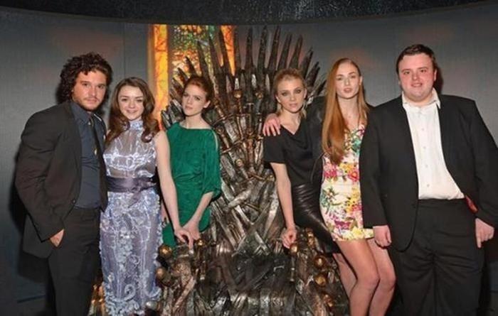 Актеры сериала «Игра престолов» на премьере 5 сезона