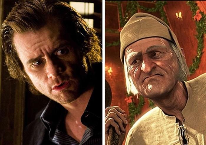 Фото. Актеры похожи на мультипликационных героев, которых озвучивали
