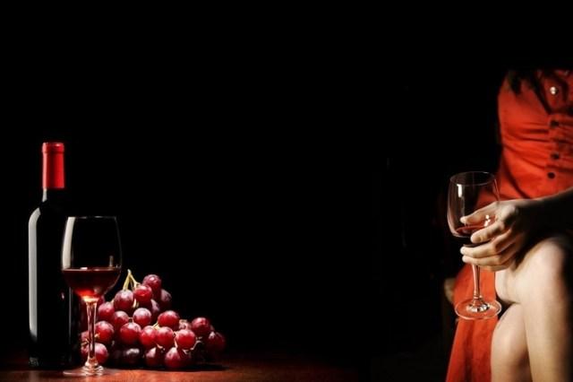 Красное вино в косметологии