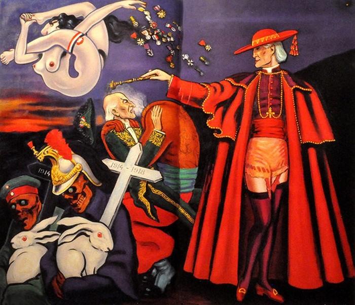 Провокационные работы французского художника Кловиса Труйя