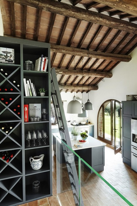 Роскошный дизайн виллы в Италии
