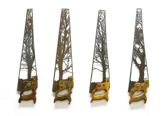 Оригинальные скульптуры из металлолома Дэна Ролингса