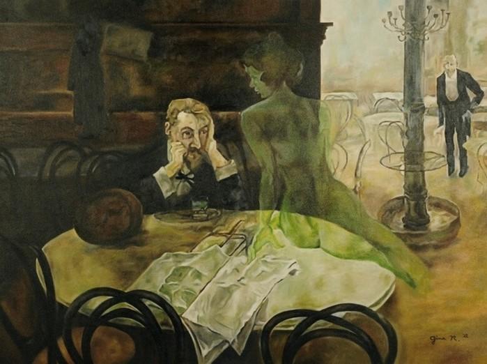 Абсент и его знаменитые почитатели