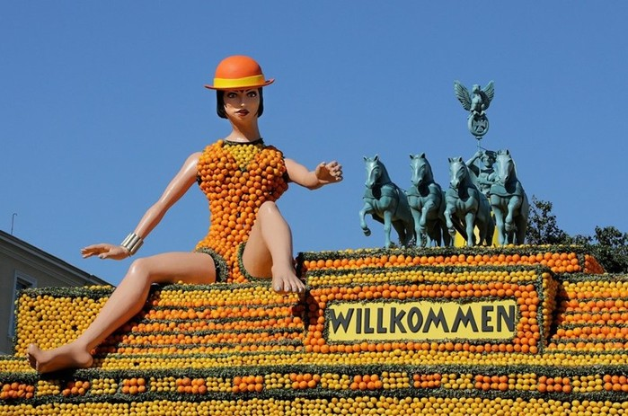 Фестиваль в столице лимонов (фоторепортаж)