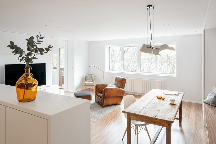 Перепланировка квартиры в Испании: принцип «коробка в коробке»