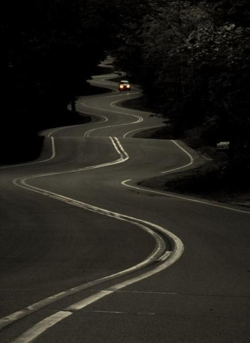 Фотографии самых красивых дорог
