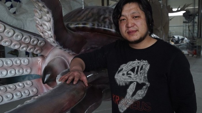 Палеомир   китайский иллюстратор Чжао Чжуан