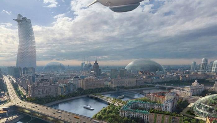 Какой будет Москва в 2050 году
