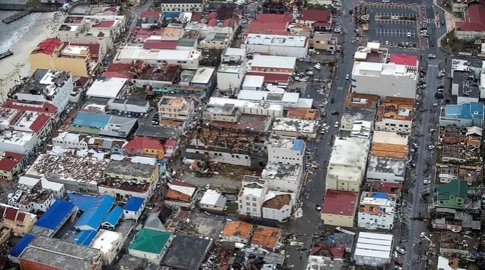 Ураган «Ирма» разбушевался
