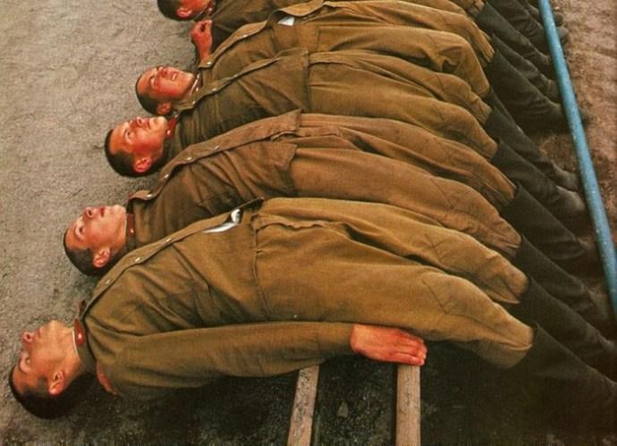 «Неформальные» наказания в Советской армии