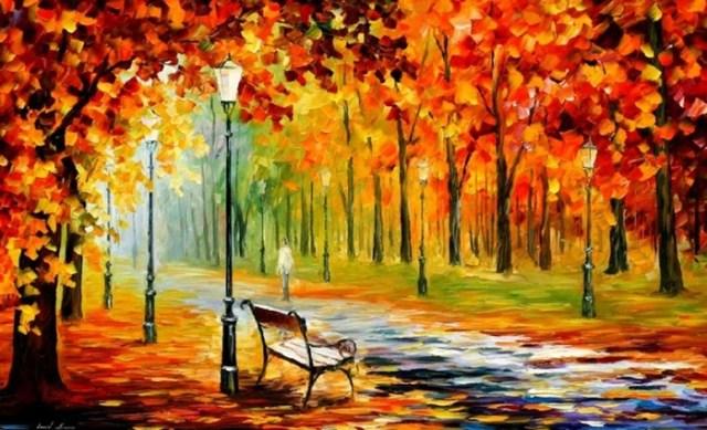 Золотые картины художников, влюбленных в осень