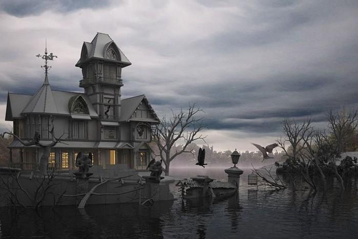 Бизнес идея: открываем дом с привидениями
