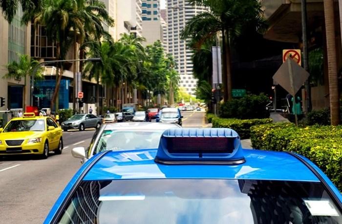 Службы такси в разных странах мира