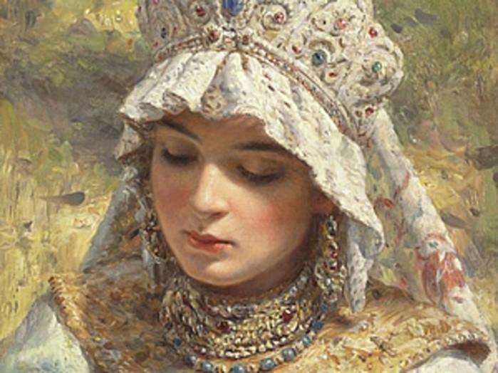 Каких женщин русские считали красивыми