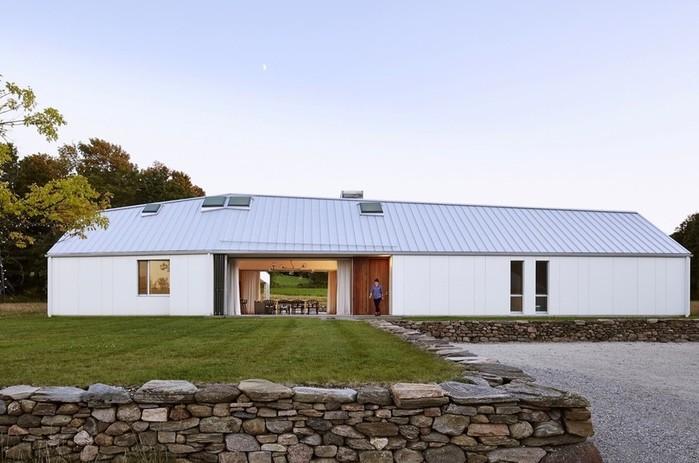 Уютный интерьер загородного дома в Канаде