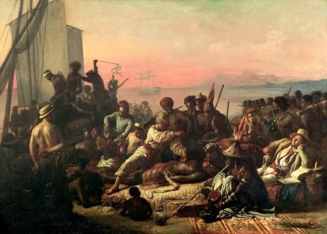 Как 345 лет назад перевозили живой товар