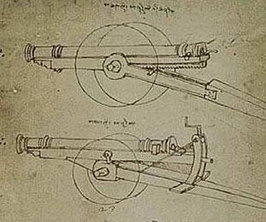 Оружие, которое придумал Леонардо да Винчи