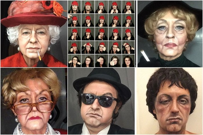 Каждый день новая роль: визажистка примеряет на себя всевозможные образы известных людей