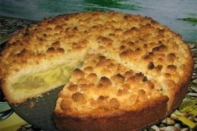 Царский яблочный пирог