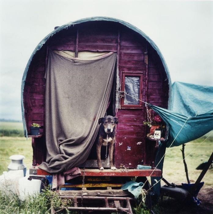 Как живет цыганская молодежь в современной Великобритании. Фотоальбом «Новые цыгане» Йена Маккела