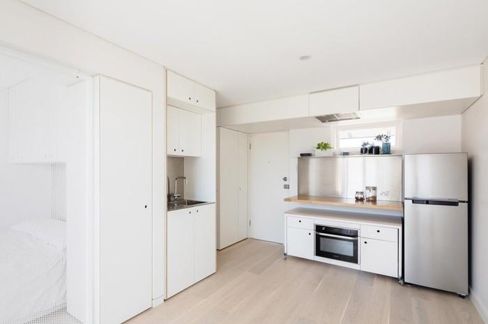 Интерьер квартиры площадью 24 квадратных метра в Сиднее