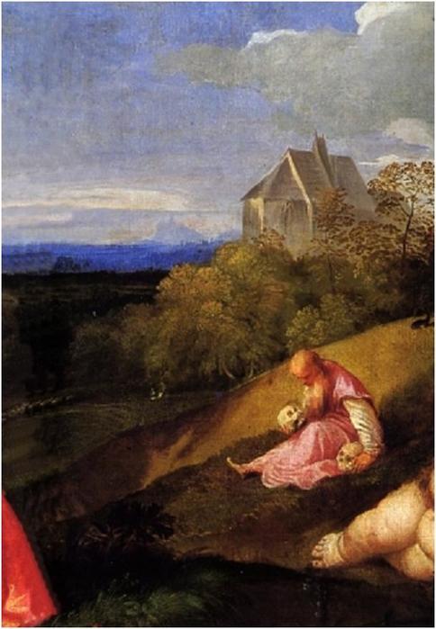 Кто стал прообразами для «странной картины» гениального Тициана? Удивительные аллегории живописи