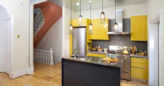 Как сделать остров на маленькой кухне: многофункциональный стол в центре
