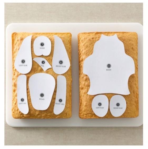 Торт собака из бисквитных коржей   пошаговый рецепт в картинках