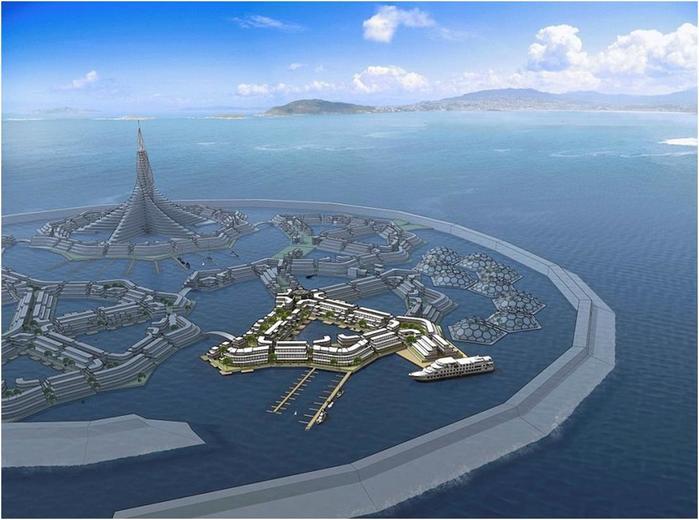 В 2020 м году появятся города на воде