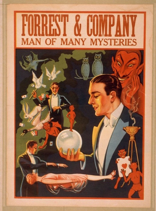 Фантастические афиши иллюзионистов 1870—1915 годов
