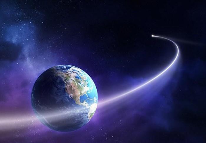 В Солнечную систему впервые прилетел астероид из другой галактики