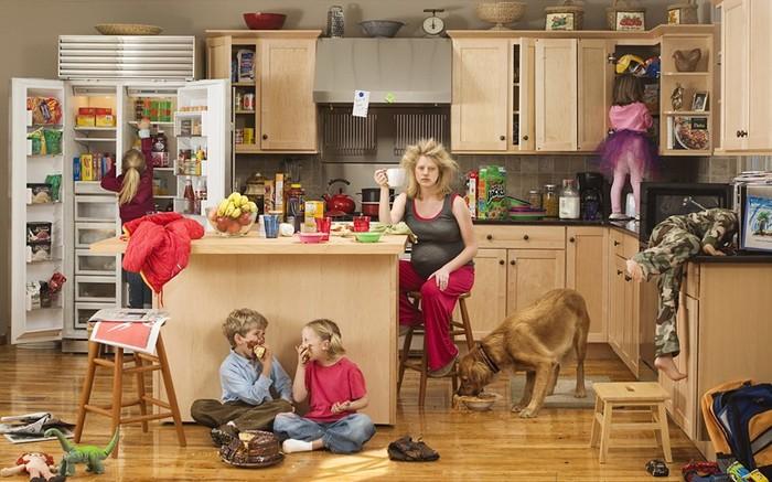Мама домохозяйка взорвала сеть ответом на вопрос: «А что ты целый день делаешь?»