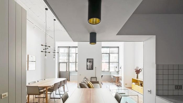 Классный интерьер квартиры в Барселоне