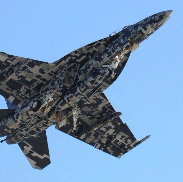 Потрясающая маскировка военной техники