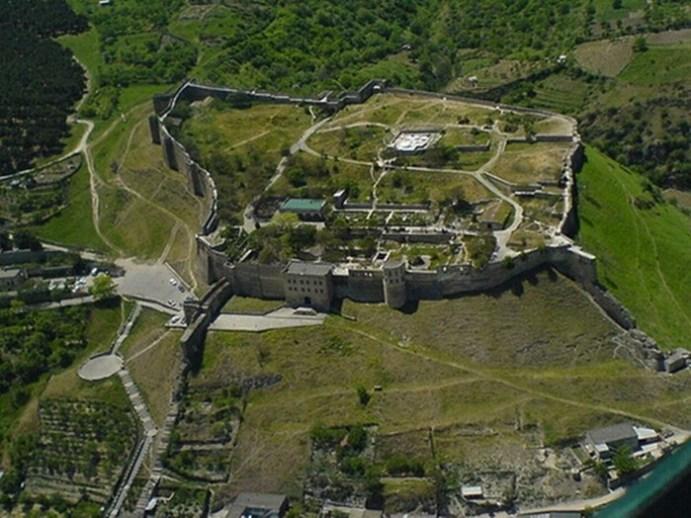 Самый древний город России— Дербент в Дагестане