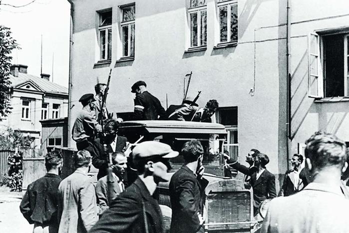 Самые крупные восстания в Прибалтике против советской власти