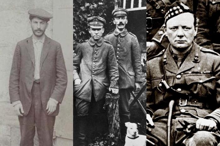 Как Гитлер, Сталин и Черчилль пережили Первую мировую войну, чтобы противостоять друг другу во Второй