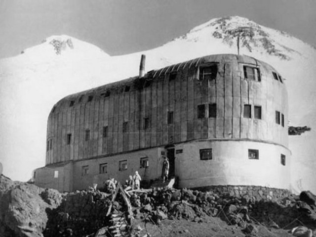 Что фашисты делали на вершине Эльбруса