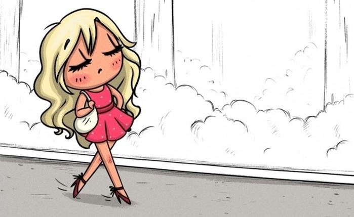 12 комиксов о том, что детские привычки остаются с нами навсегда