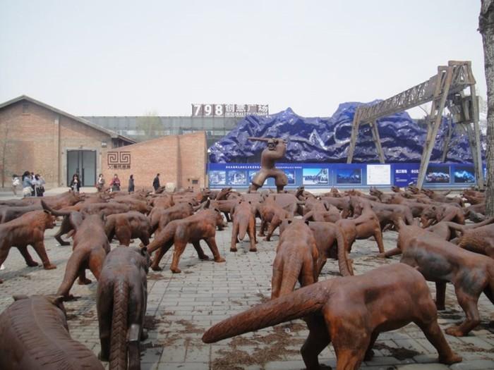 Чем знаменит Район 798 в Пекине